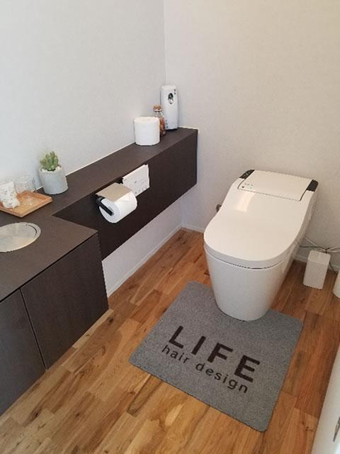 トイレマットの設置事例